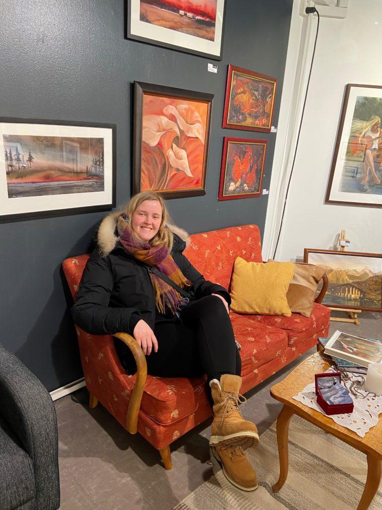 Kunstutstilling, Anne Rødal