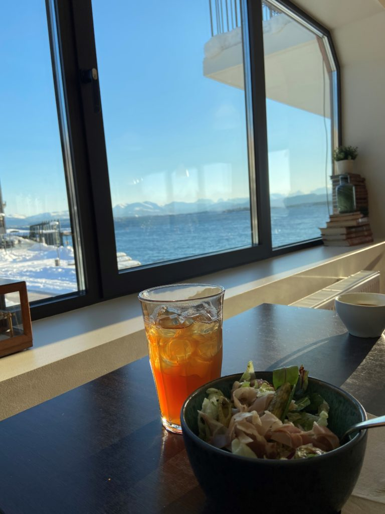 Lunsj på Den gode smak